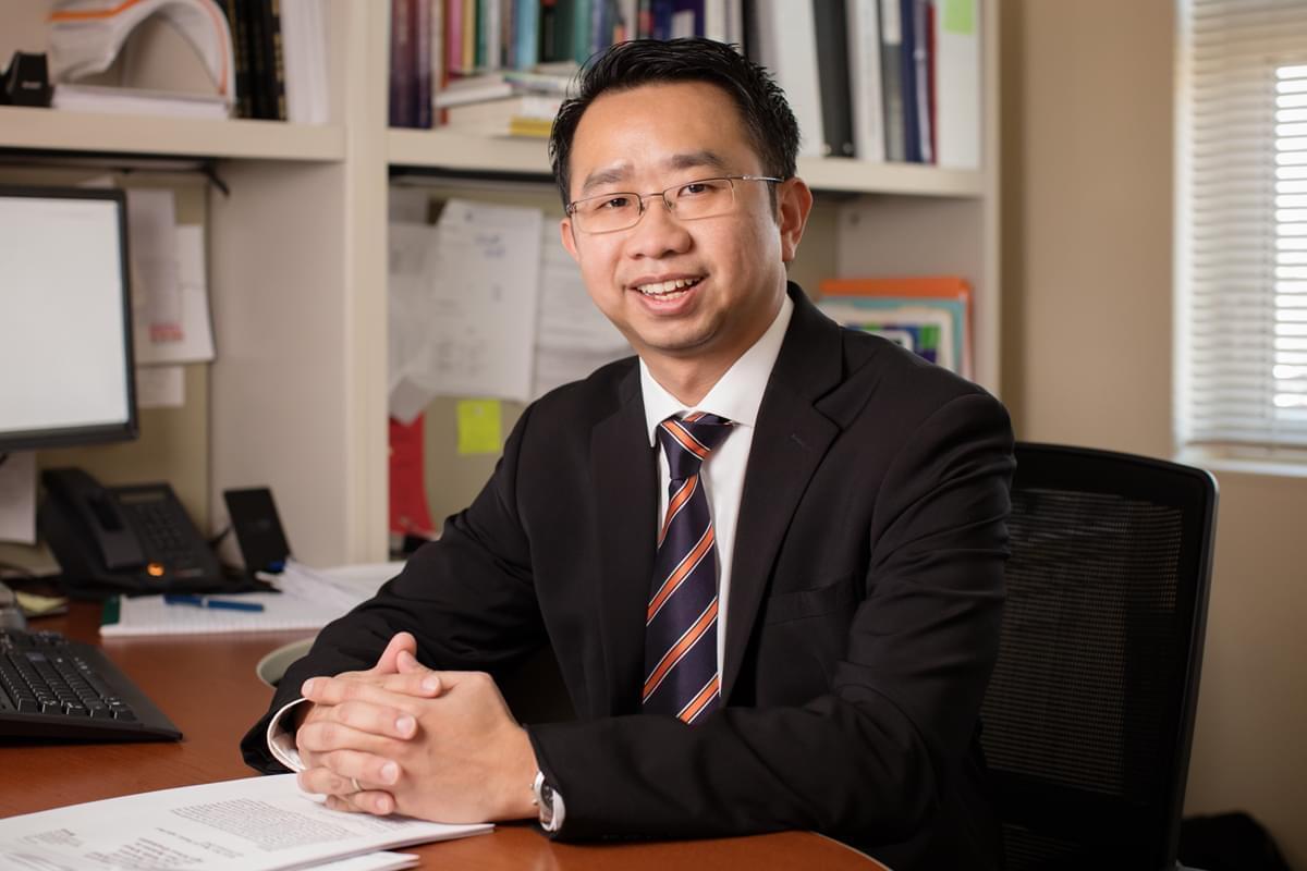 University of Illinois Urbana-Champaign social work professor Kevin Tan.