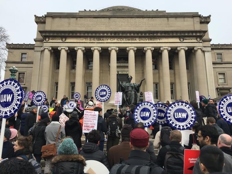 Columbia University demonstrators