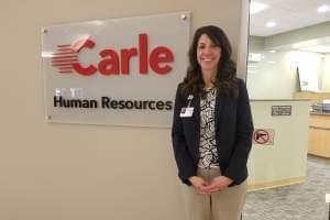 Carle Vice-President Lauren Schmid