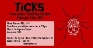 Insect Fear Film Festival advertisement