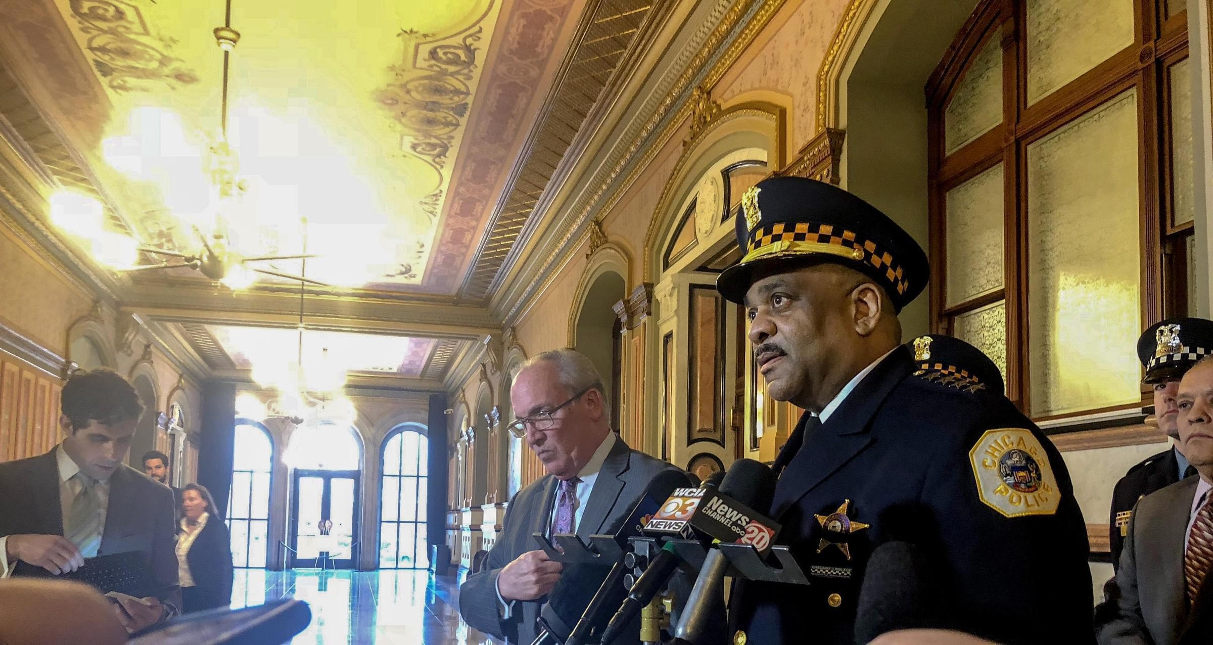 Chicago Police Supt. Eddie Johnson came to Springfield to tell lawmakers that it's now up to them to help prevent gun-related tragedies going forward.