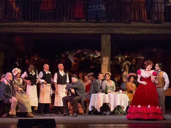The Met performs world's most popular opera La Bohème