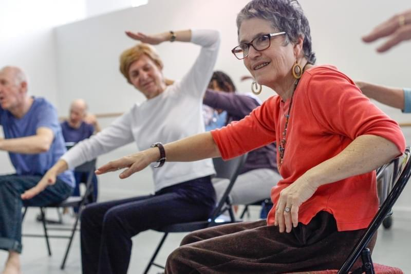 The Mark Morris Dance Group offers classes to people with Parkinson's disease in 100 communities around the world, including right here in Champaign-Urbana.