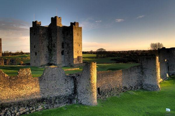 Remains of the 12th-century Trim Castle in County Meath, the largest Norman castle in Ireland