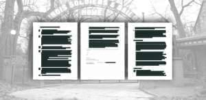 Gov. Bruce Rauner's administration sent many redacted emails to lawmakers investigating repeated Legionnaire's disease outbreaks at the Illinois Veterans Home in Quincy.