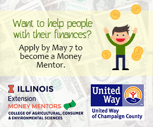 If you want to help other people with their finances apply by May 7 to become a Money Mentor