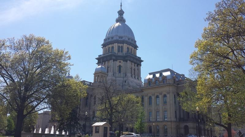 Illinois Statehouse.