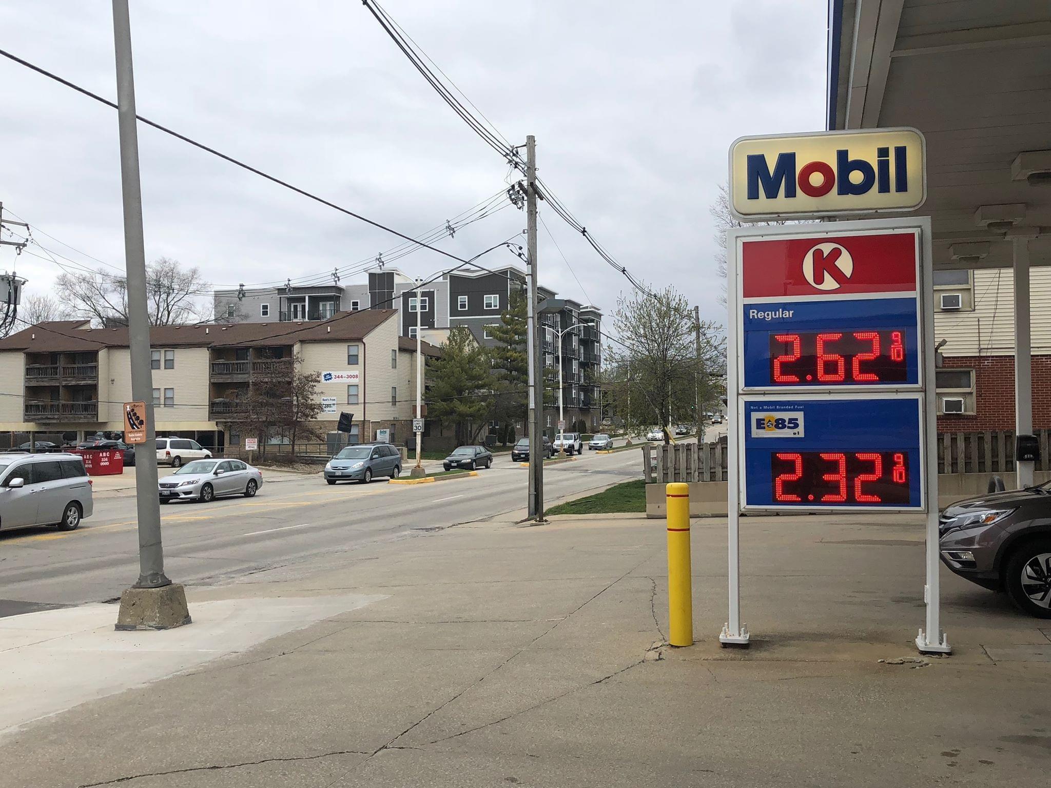 A Gas Station in Urbana