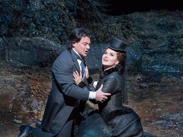 The Metropolitan Opera performs Lucia di Lammermoor.