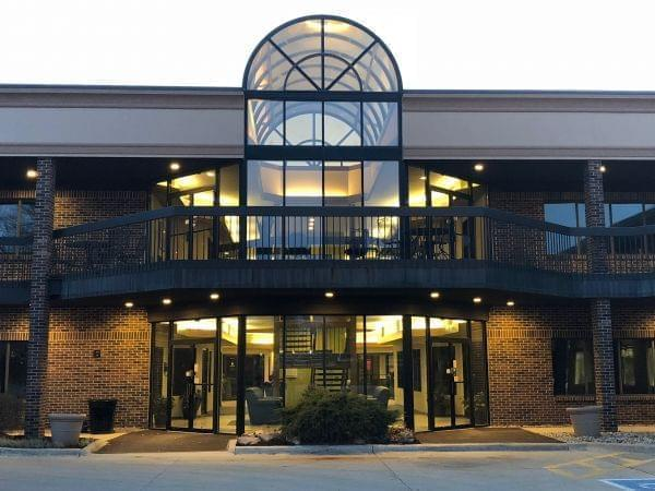 The building that houses the Champaign County Economic Development Corporation