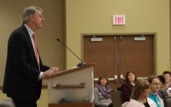 TIAA executive Ronald Pressman.