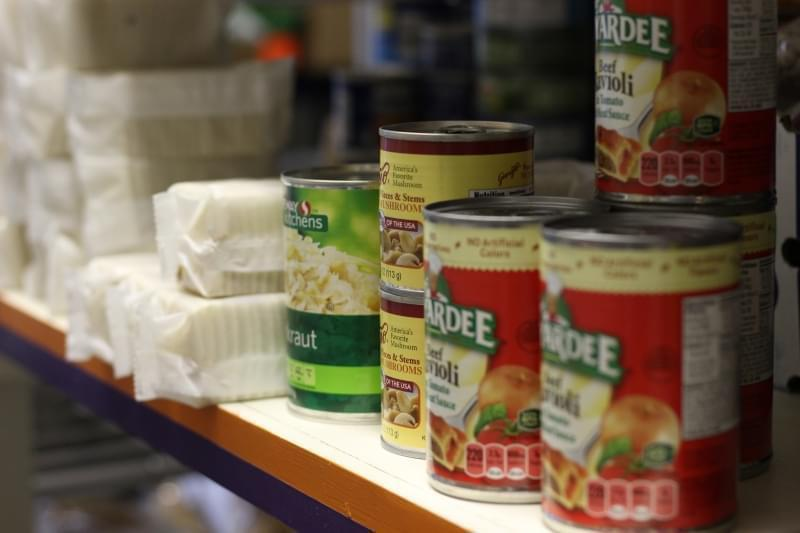 The Rising Up food pantry in Fort Morgan, Colorado, is one of only two locations in the area. A mobile food pantry also comes to town once a month.