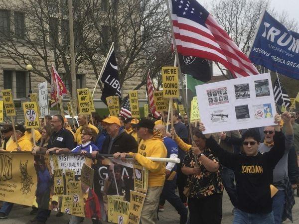 Gun rally in Illinois