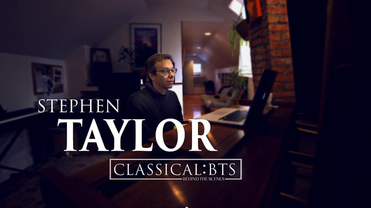 Image of Stephen Taylor, professor and composer