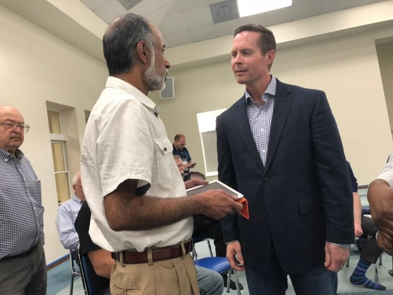 Congressman Rodney Davis at the Central Illinois Mosque and Islamic Center