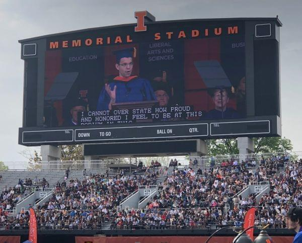 PayPal co-founder Max Levchin delivered the commencement address for the University of Illinois at Urbana-Champaign's 2018 commencement ceremony.