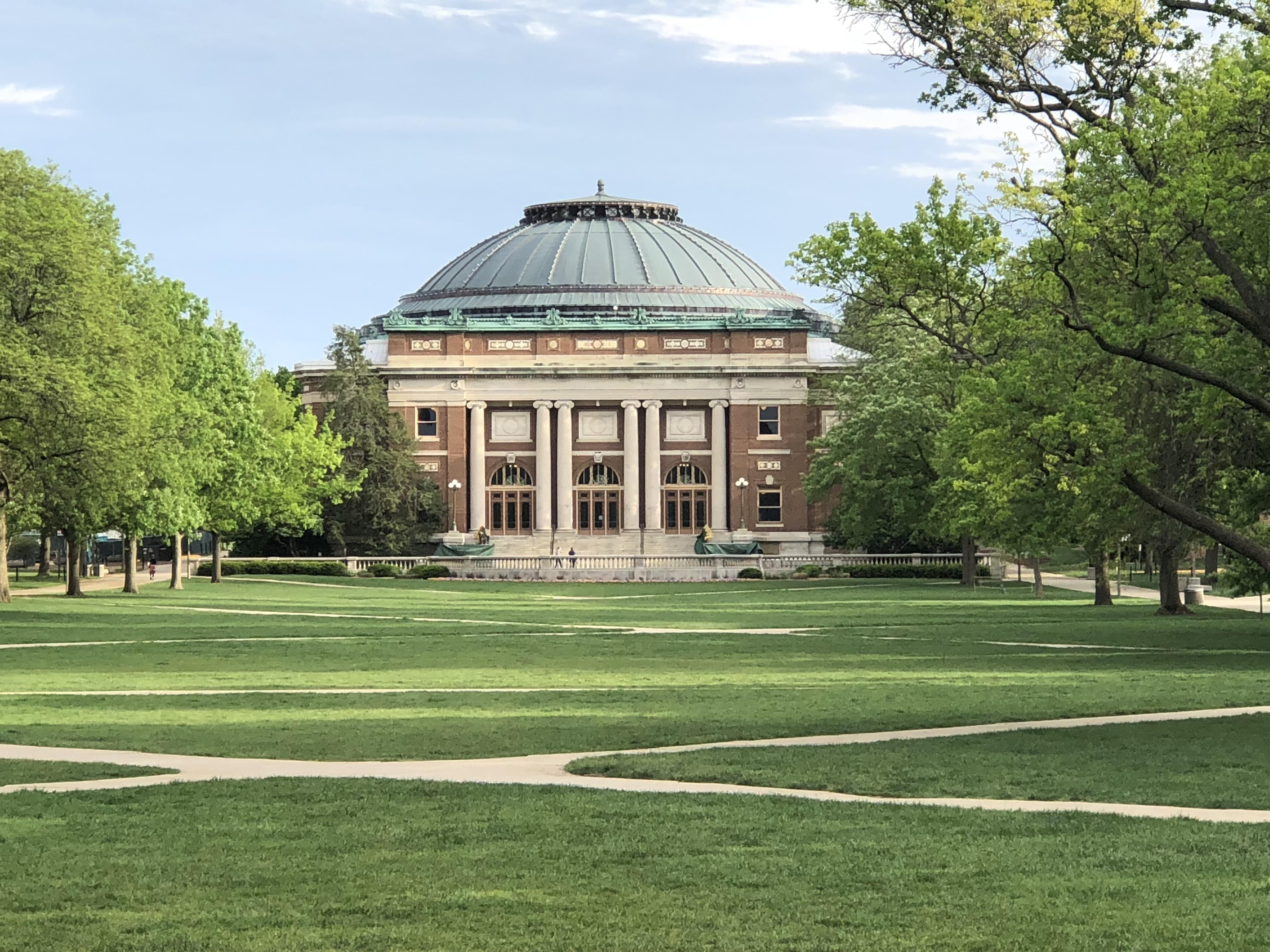 Main Quad at University Of Illinois at Urbana-Champaign