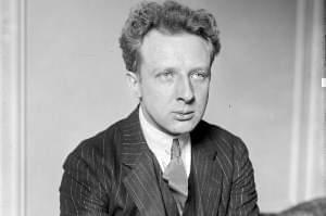 Portrait of Leopold Stokowski.