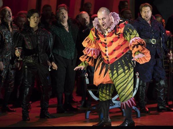 The Lyric Opera of Chicago performs Rigoletto.