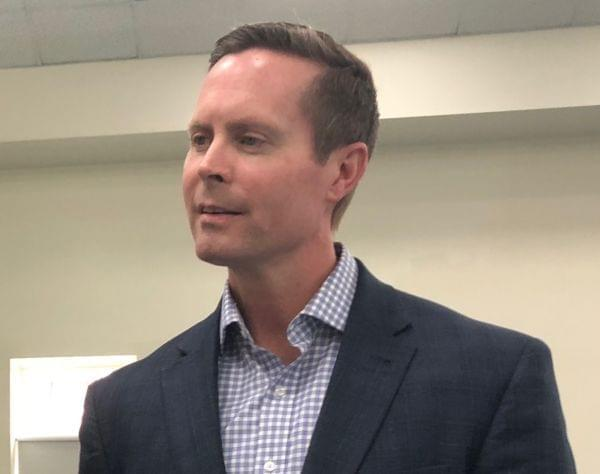 Congressman Rodney Davis was in attendance at a congressional baseball practice in June 2017 when a gunman opened fire and wounded House Majority Whip Steve Scalise among others.