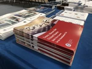 Educational materials for the Immigrant Community Conference and Benefits Fair