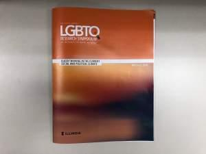 Pamphlet for the Sixth Annual LGBTQ Research Symposium.