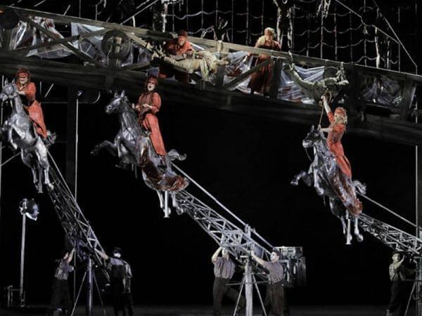 Die Walküre with the Lyric Opera of Chicago.