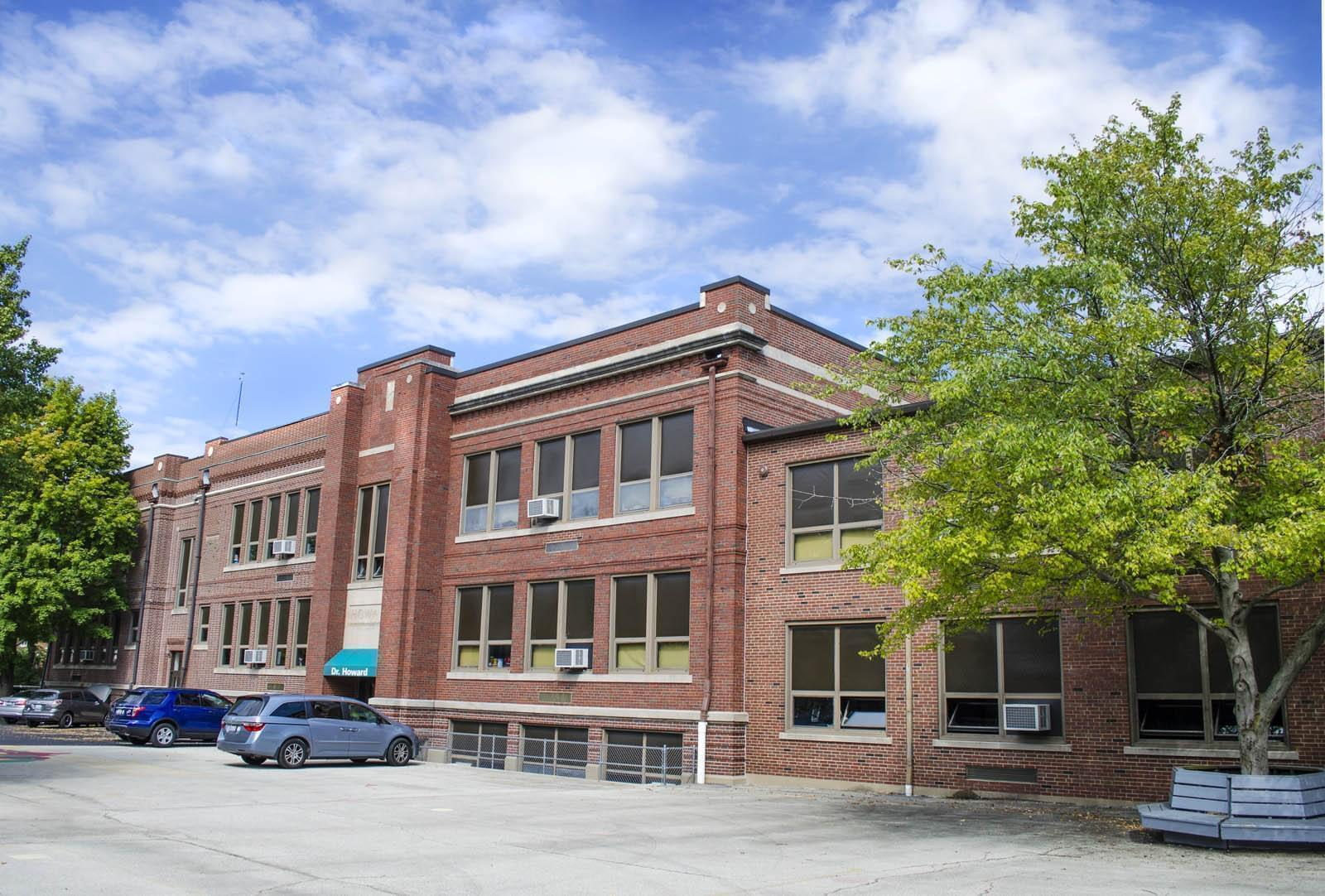 Dr. Howard Elementary School in Champaign.