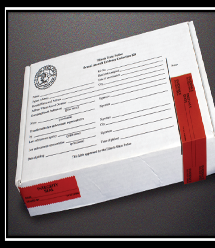 The contents of a rape kit vary depending on the amount of evidence found on the victim.