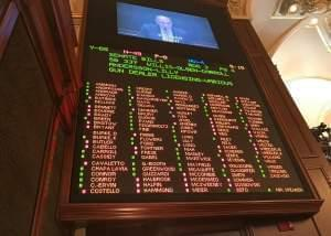 The final vote on the measure, SB337, on the House floor on May 29.