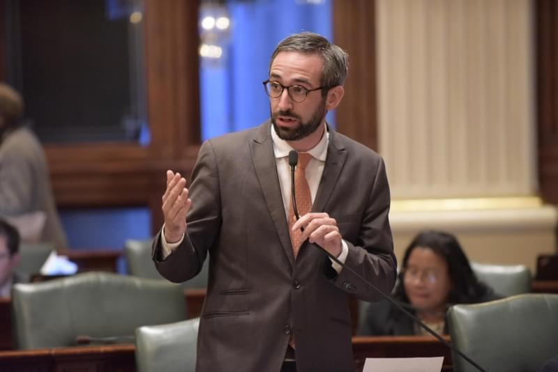 State Rep. Will Guzzardi, a Chicago Democrat, sponsored legislation to extend the Human Rights Act to cover small businesses.