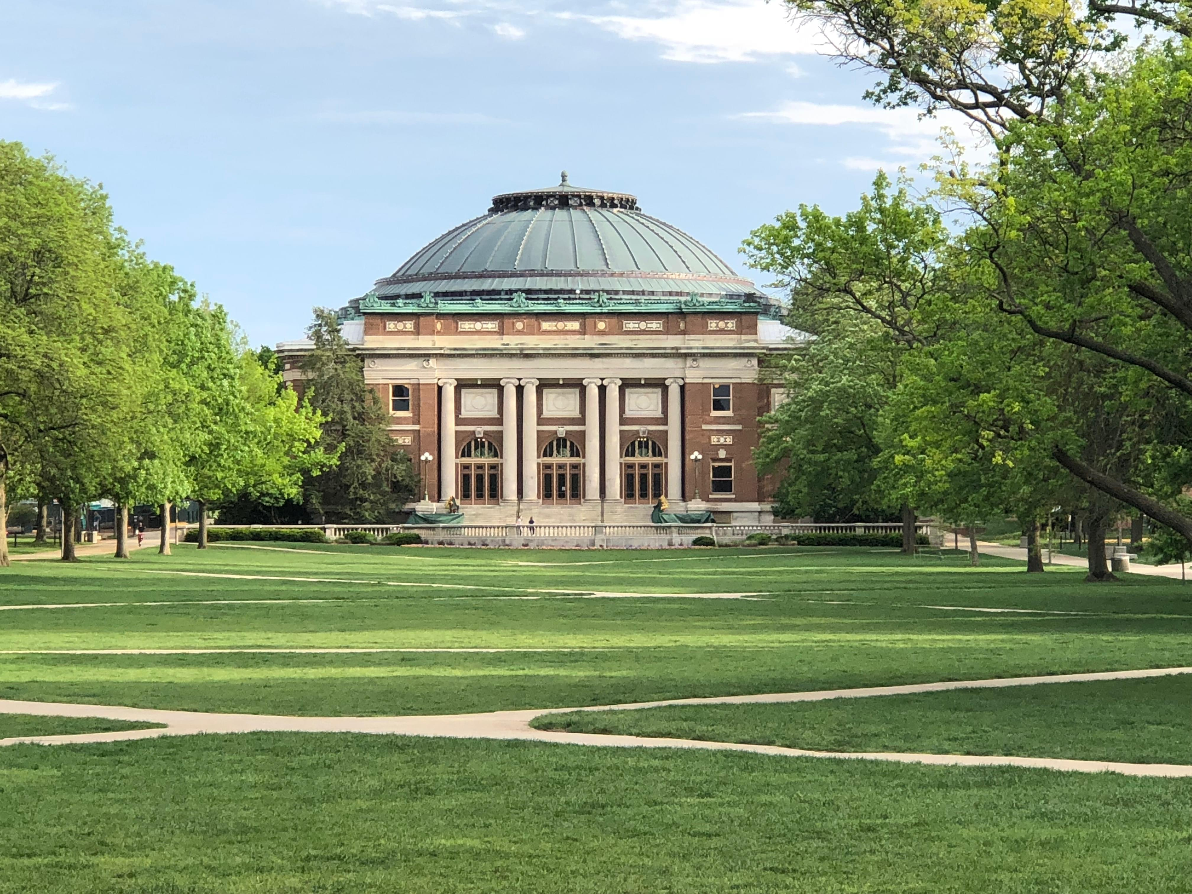 The University of Illinois.