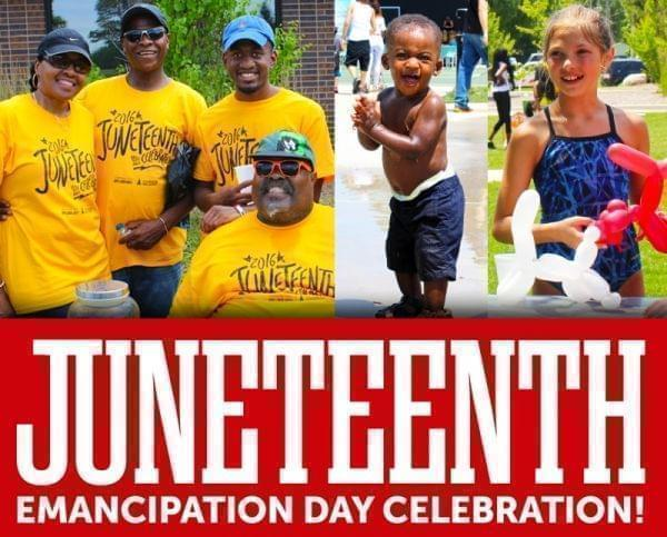 The Champaign Park District is holding a Juneteenth celebration on Saturday June 16 at Douglass Park in Champaign commemorating the Emancipation Proclamation when it was recognized in Texas 153 years ago.