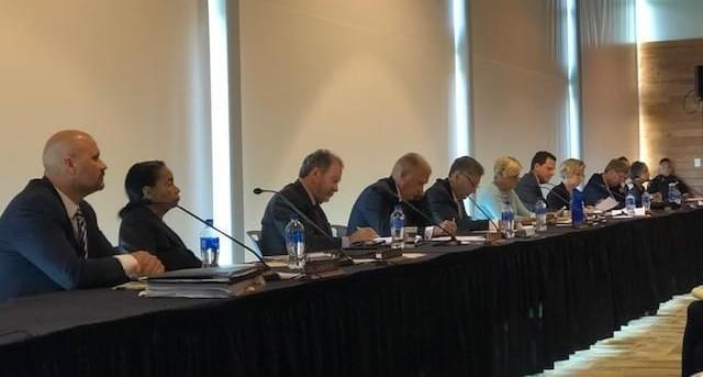 Southern Illinois University trustees meeting in Edwardsville.