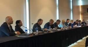 Southern Illinois University trustees meeting in Edwardsville.