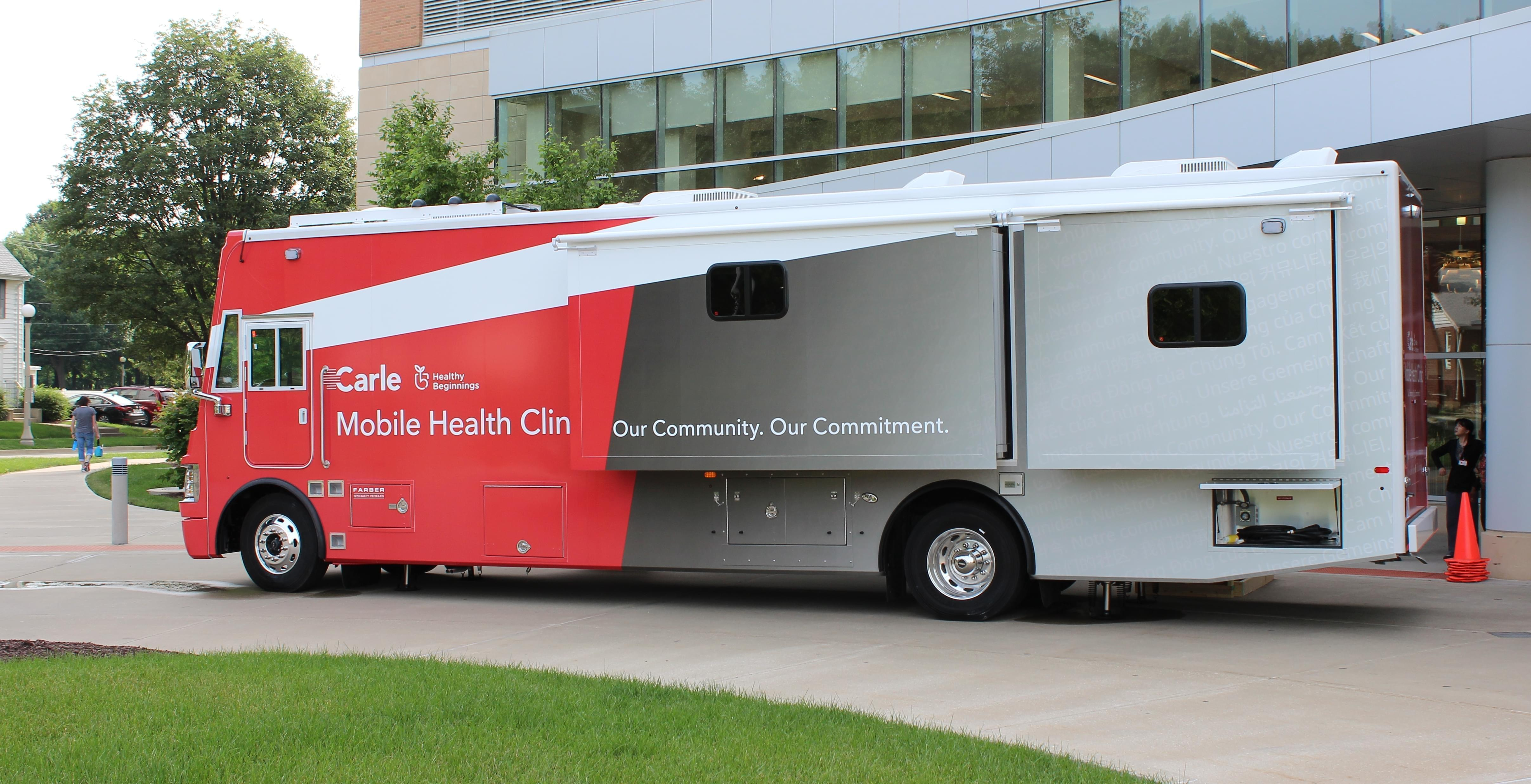 Carle mobile health clinic