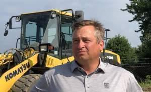 Matt Roland, president of Roland Machinery