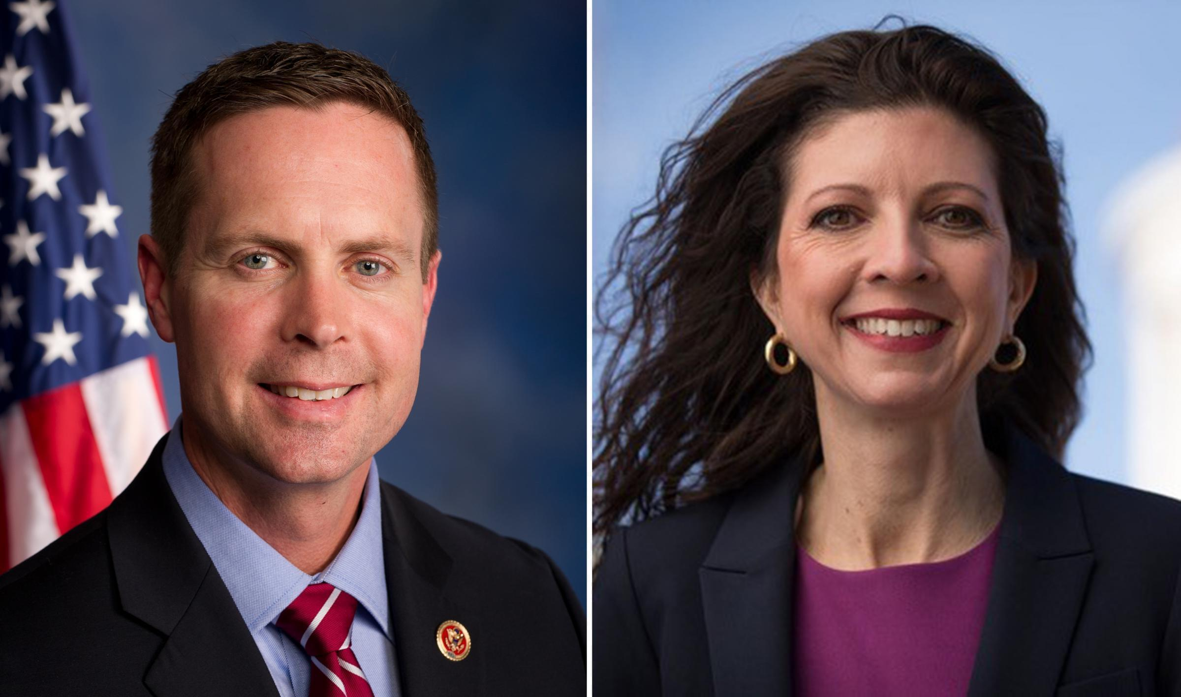 U.S. Rep. Rodney Davis will take on Democratic challenger Betsy Dirksen Londrigan in November in the 13th Congressional District.