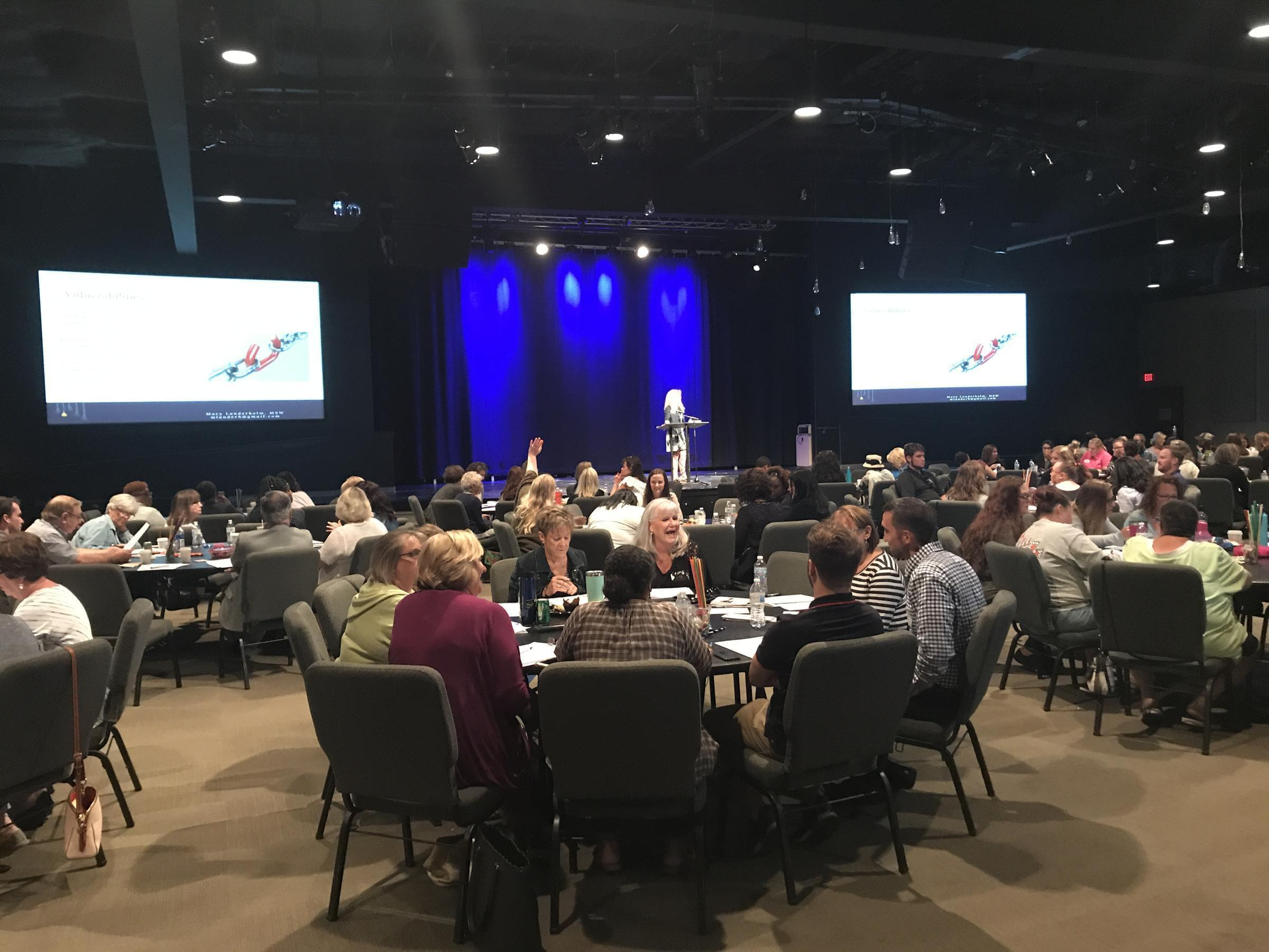 Educators Learn To Spot Domestic Violence And Human