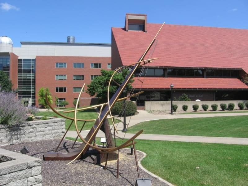 The Millikin University campus in Decatur.