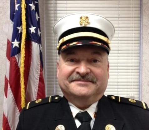 Newly appointed Urbana Fire Chief Chuck Lauss