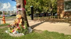 The memorial site for missing Chinese scholar Yingying Zhang