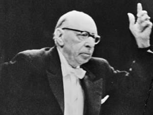 Stravinsky conducting in 1965
