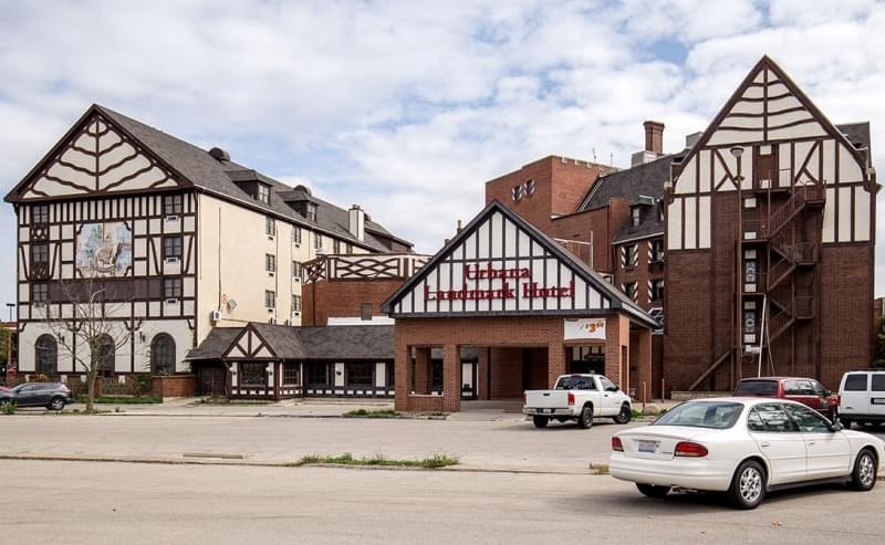 The now-closed Urbana Landmark Hotel