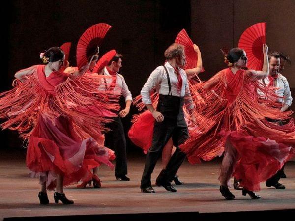 The Los Angeles Opera performs Carmen