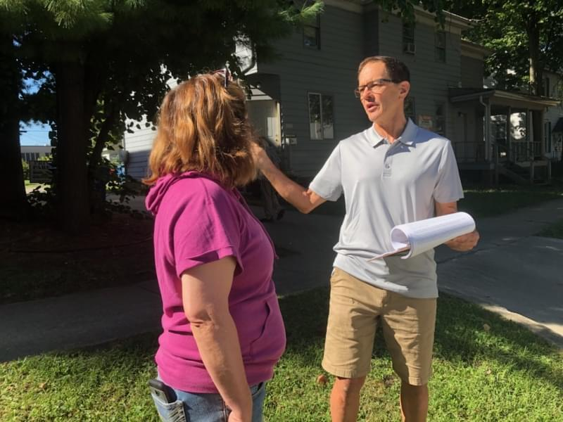 Champaign residents Brenda Koenig and Tod Satterthwaite