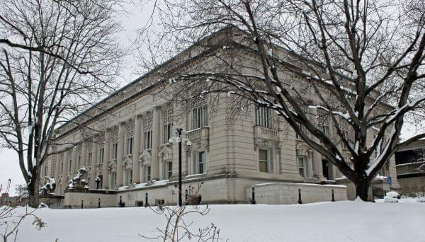 The Illinois Supreme Court building in Springfield.