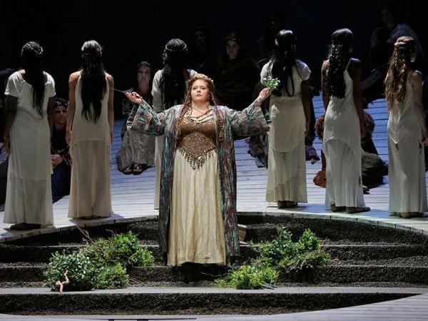 The Los Angeles Opera performs Norma