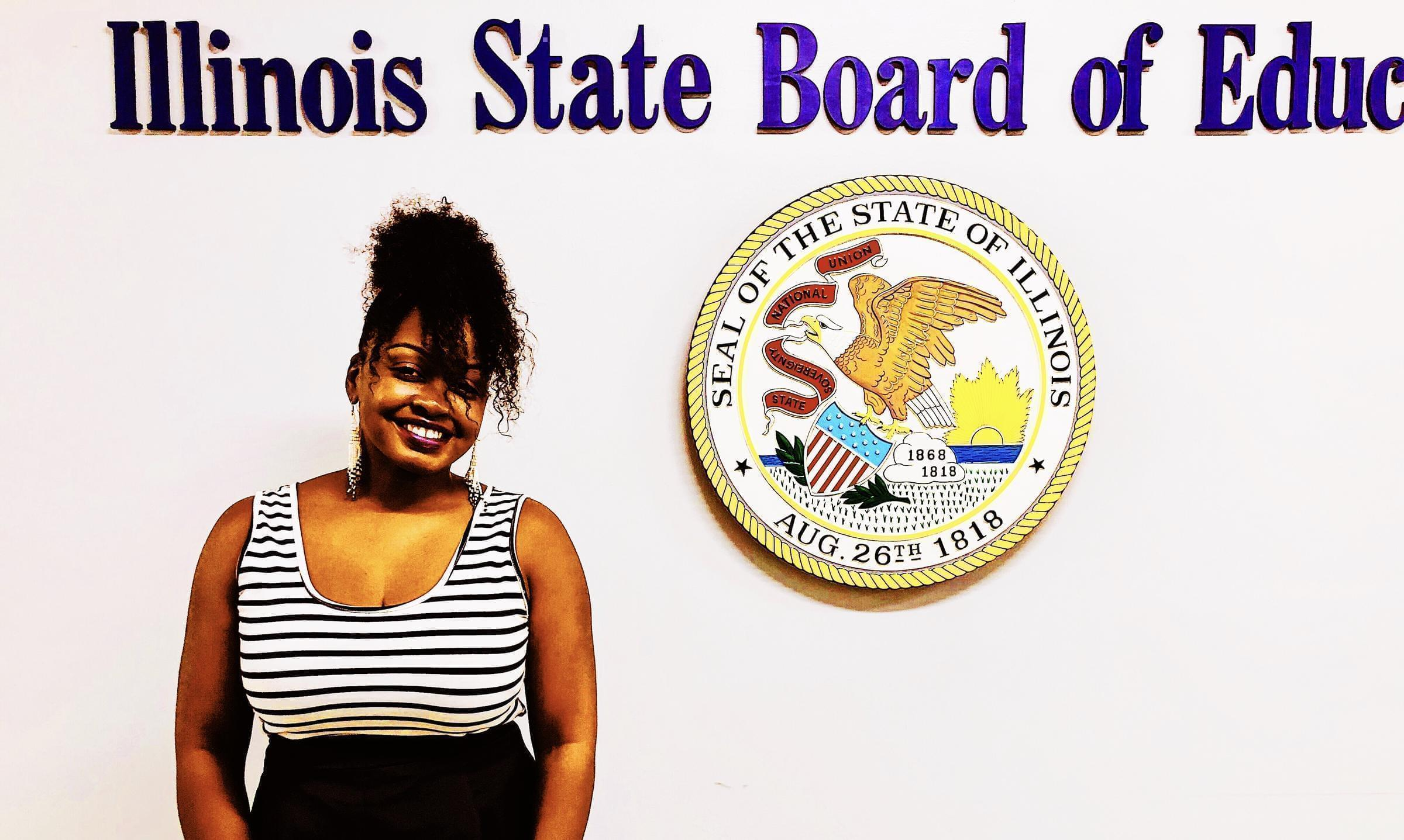 Nakia Hall is a member of the Crete-Monee school board.