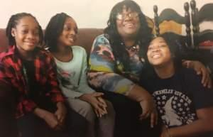Maxica Williams and her children